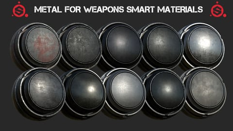 Metal for weapons