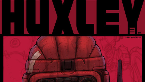 3 HUXLEY™ GRAPHIC NOVEL Part 3