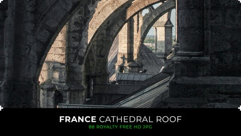 France - Cathedral Roof