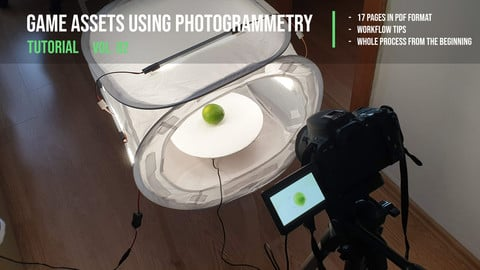 Creation of game assets using photogrammetry - tutorial vol. 02