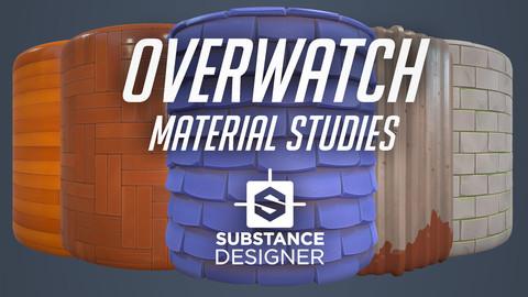 Substance Designer - Overwatch Material Studies (Free)