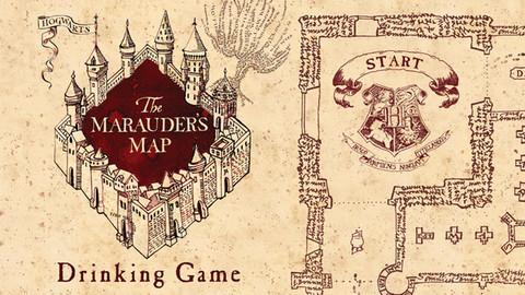 Marauder's Map Drinking Game