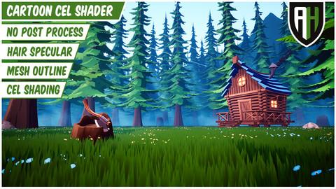 Cartoon Cel Shader (Unreal Engine 4)