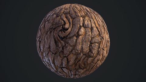 Pine Bark Material
