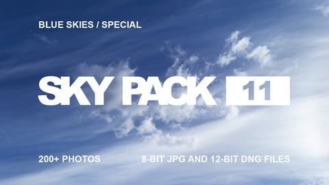Sky Pack 11 / Blue Skies Special / Clouds reference pack