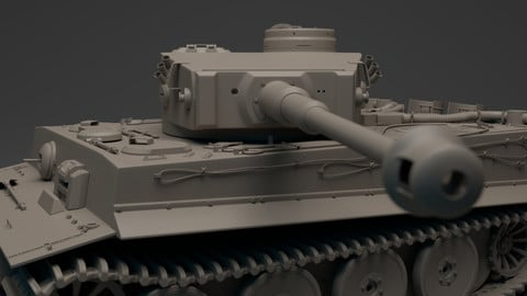 Tiger Tank - Panzerkampfwagen VI
