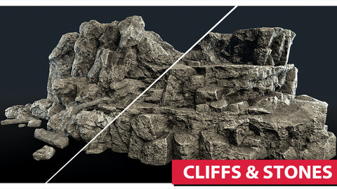 Cliffs & Rocks (Unity)