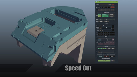 speedCut for maya