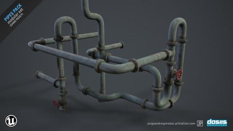 Pipes Pack - Modular Set