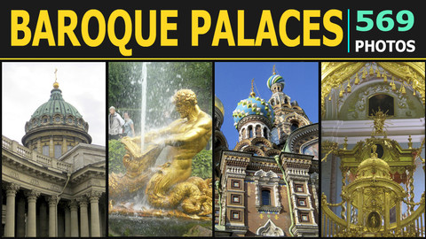 Baroque Palaces Saint Petersburg - Reference Pack 1