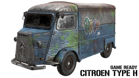 Citroen Type H - Game Ready