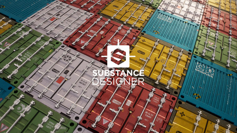 Shipping Containers - Substance Designer