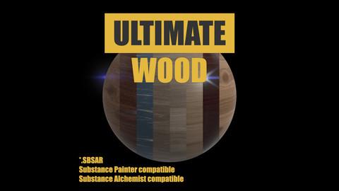 Ultimate Wood material (.sbsar)