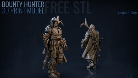 Bounty Hunter 3D Print