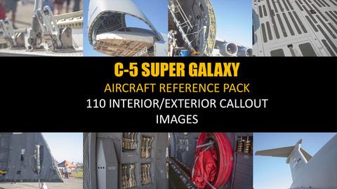 Lockheed C-5 Super Galaxy Aircraft Reference  Pack