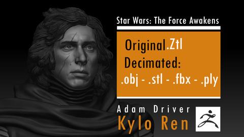 Adam Driver - Kylo Ren - Ben Solo - Star Wars