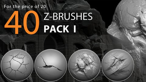 40 Z-brushes | Pack I