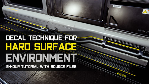 Decal Technique For Hard Surface Environment