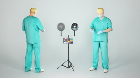 Male surgical doctor ready for surgery 42