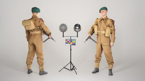 British commando character from World War 2 43