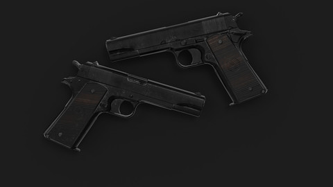 Colt 1911 Gameready PBR Pistol