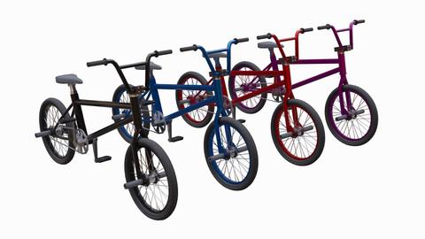 Bikes - Low Poly