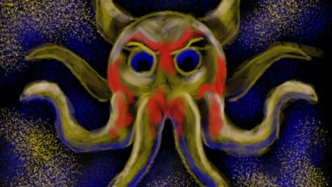 Angry Lil Octopus