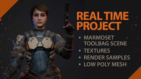 Female Mercenary Real Time