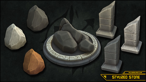 Stylized Stone - Smart Materials