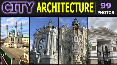 City Architecture Kazan - Ufa