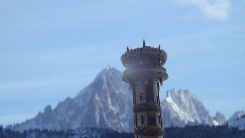 Fantasy Medieval Tower