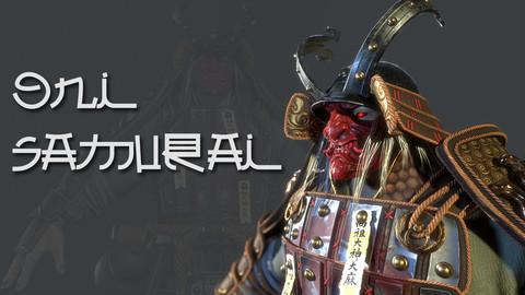 Oni Samurai - Game Ready
