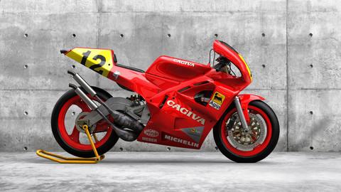 Cagiva C589 motorcycle