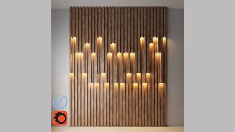 Wall decorate light 2