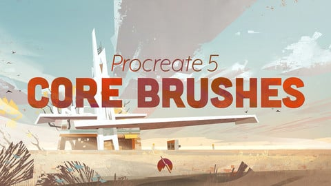 CORE Brushes - 29 Custom Brushes for Procreate 5