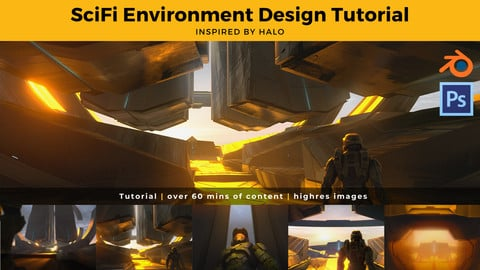 Scifi Environment Design Tutorial