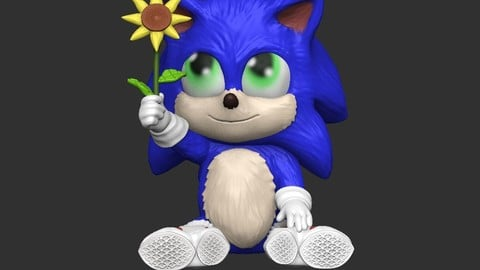 Baby Sonic SONIC THE MOVIE
