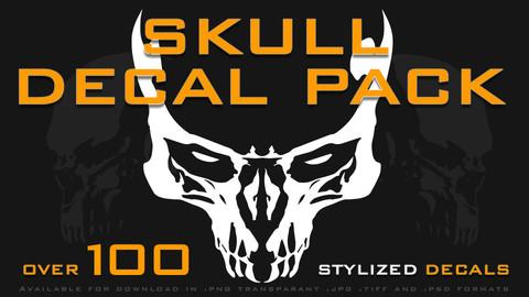 Skull Decal Pack - 100+