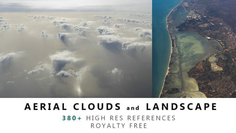 Aerial CLOUDS and LANDSCAPES Texture PACK