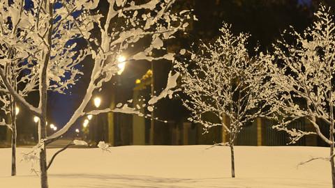 Corona Renderer Snow Material