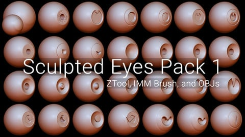 Sculpted Eyes Pack 1