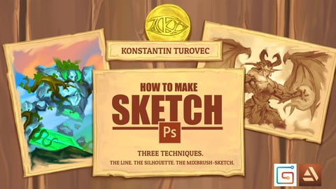 3 techniques for creating sketches