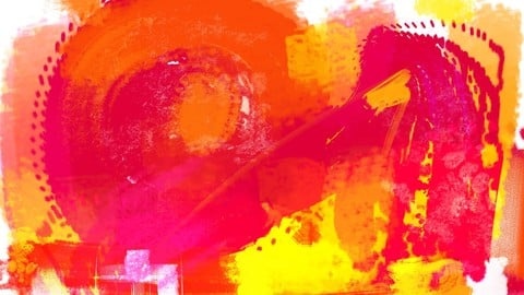 """Abstract: reds and yellows"""