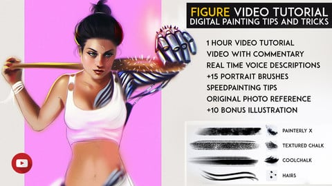 Figure Painting in Photoshop - Video Tutorial