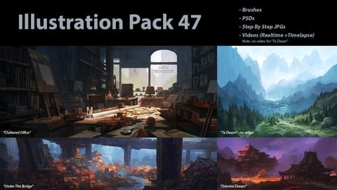 Illustration Pack 47 (not a stock asset)