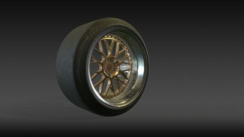 Sport Tyre PBR game ready