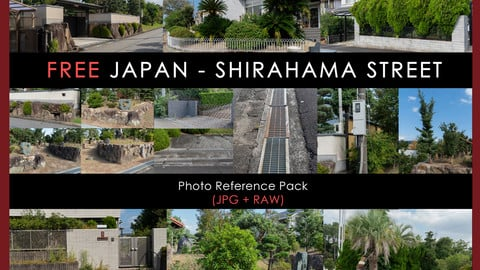 FREE Ref Pack - Streets of Shirahama (Japan)