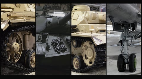 TANKS AND OTHER MILITARY VEHICLES PT.2| Reference Pack