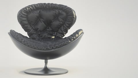 Armchair Giovannetti Jetsons Black