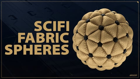 SciFi Fabric Spheres